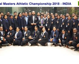 38th National Masters Athletic Championship - India